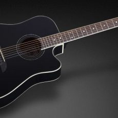 Framus FD 14 S BK CE - Solid Black High Polish + EQ