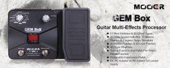 Mooer GEM Box Guitar Multi FX Processor