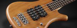 Warwick Rockbass Corvette $$ 4-String Bass passive, Honey
