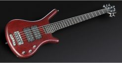 Warwick Rockbass Corvette $$ 5-String Bass passive, Red