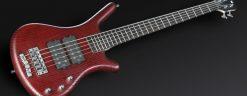 Warwick Rockbass Corvette $$ 5-String Bass passive, Red