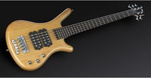 Warwick Rockbass Corvette $$ 5-String Bass passive, Honey