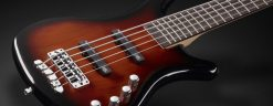 Warwick Rockbass Corvette Basic 5-String Bass passive, Almond Sunburst