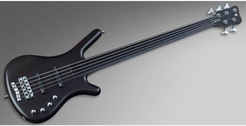 Warwick Rockbass Corvette Basic 5-String Bass passive, Fretless, Nirvana Black