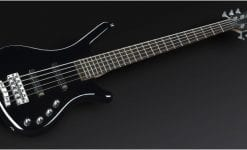 Warwick Rockbass Corvette Basic 5-String Bass, active, Black High Polish