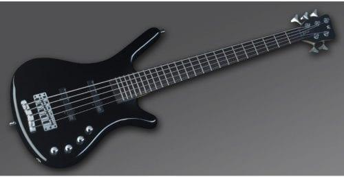 Warwick Rockbass Corvette Basic 5-String Bass passive, Black High Polish