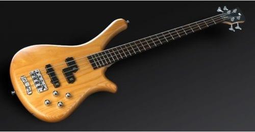 Warwick Rockbass Fortress 4-String Bass active, Honey