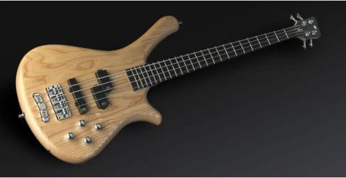 Warwick Rockbass Fortress 4-String Bass active, Natural