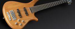 Warwick Rockbass Fortress 5-String Bass active, Honey