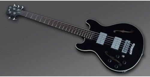 Warwick Rockbass Starbass Left Handed 5-String Bass passive, Black High Polish