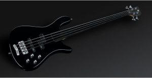 Warwick Rockbass Streamer LX 4-String Bass passive, Fretless, Black High Polish