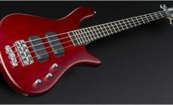 Warwick Rockbass Streamer Standard 4-String Bass passive, Red