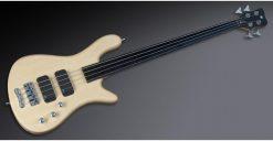 Warwick Rockbass Streamer Standard 4-String Bass passive, Fretless, Natural