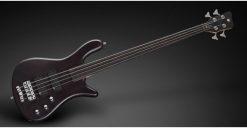 Warwick Rockbass Streamer Standard 4-String Bass passive,Fretless, Nirvana Black