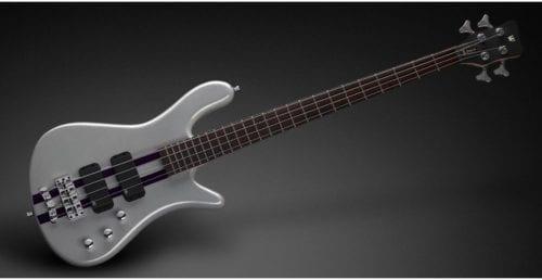 Warwick Rockbass Streamer Standard 4-String Bass passive, Racing Silver