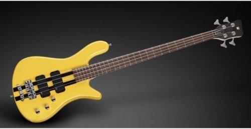 Warwick Rockbass Streamer Standard 4-String Bass passive, Racing Yellow