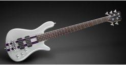 Warwick Rockbass Streamer Standard 5-String Bass passive, Racing Silver