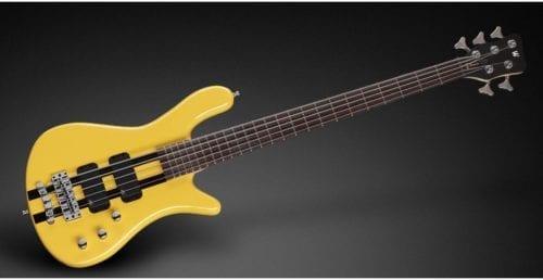 Warwick Rockbass Streamer Standard 5-String Bass passive, Racing Yellow