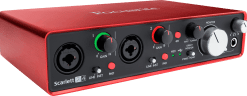 Focusrite Scarlet 2 2i4 usb audio interface