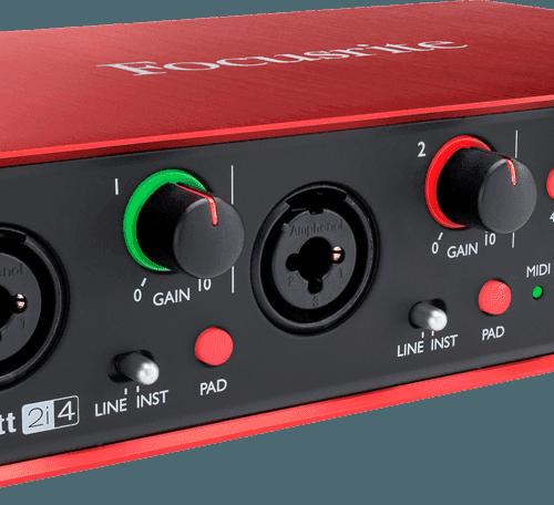 Warwick Bass Guitar Wallpaper: Focusrite Scarlet 2 2i4 Usb Audio Interface