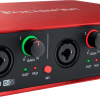 Focusrite Scarlett 2 6i6 usb audio interface