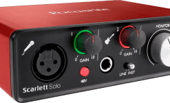 Focusrite Scarlet 2 Solo usb audio interface